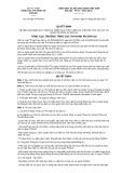 Quyết định số 537/QĐ-TCTHADS