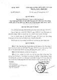 Quyết định số 1664/QĐ-BTP