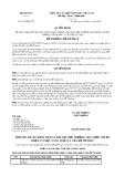 Quyết định số 1972/QĐ-BTP