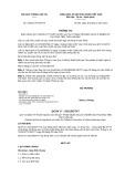 Thông tư số 70/2011/TT-BGTVT