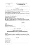 Thông tư số 72/2011/TT-BGTVT