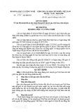Quyết định số 3975/QĐ-BKHCN