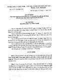 Quyết định số 1187/QĐ-BKHCN