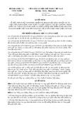 Quyết định số 1689/QĐ-BKHCN