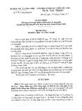 Quyết định số 2703/QĐ-BKHCN