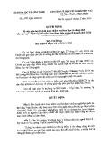Quyết định số 1239/QĐ-BKHCN