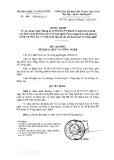 Quyết định số 421/QĐ-BKHCN