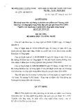 Quyết định số 587/QĐ-BKHCN
