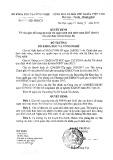 Quyết định số 2515/QĐ-BKHCN
