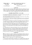 Quyết định số 1688/QĐ-BKHCN