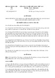 Quyết định số 2682/QĐ-BGTVT