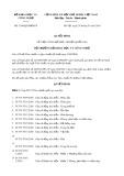 Quyết định số 1306/QĐ-BKHCN