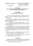 Quyết định số 1011/QĐ-BKHCN