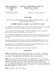 Quyết định số 4653/QĐ-BNN-KHCN