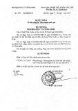 Quyết định số 378/QĐ-BKHCN