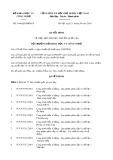 Quyết định số 1646/QĐ-BKHCN