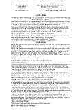 Quyết định số 18/VBHN-BKHCN