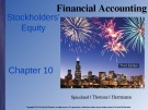 Lecture Financial accounting (3/e): Chapter 10 - Spiceland, Thomas, Herrmann