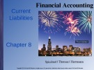 Lecture Financial accounting (3/e): Chapter 8 - Spiceland, Thomas, Herrmann