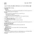 Giáo án môn Hóa học lớp 10: Bài 10