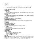 Giáo án môn Hóa học lớp 10: Bài 18