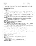 Giáo án môn Hóa học lớp 10: Bài 2