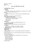 Giáo án môn Hóa học lớp 10: Bài 13