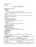 Giáo án môn Hóa học lớp 10: Bài 15