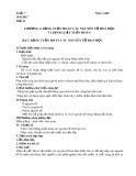 Giáo án môn Hóa học lớp 10: Bài 7