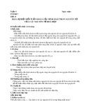 Giáo án môn Hóa học lớp 10: Bài 8