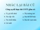 Bài giảng Tài chính và tiền tệ: Bài 3 - ThS. Nguyễn Thùy Dung
