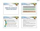 Bài giảng Quản trị bán hàng: Chương 8 - Th.S Huỳnh Hạnh Phúc