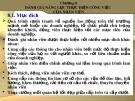 Bài giảng Quản trị nguồn nhân lực: Chương 8 - Th.S Trần Phi Hoàng