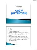 Bài giảng Tâm lý học nhận thức: Chương 4 - ThS. Nhan Thị Lạc An