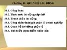 Bài giảng Quản trị nguồn nhân lực: Chương 10 - Th.S Trần Phi Hoàng