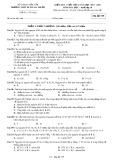 Đề kiểm tra 1 tiết lần 2 môn Hóa học lớp 10 năm 2017-2018 - THPT Buôn Ma Thuột - Mã đề 739