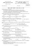 Đề kiểm tra 1 tiết lần 2 môn Hóa học lớp 10 năm 2017-2018 - THPT Buôn Ma Thuột - Mã đề 742