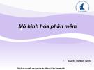 Bài giảng Nhập môn Công nghệ phần mềm: Chương 4 - Nguyễn Thị Minh Tuyền