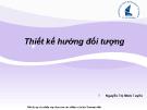 Bài giảng Nhập môn Công nghệ phần mềm: Chương 6 - Nguyễn Thị Minh Tuyền