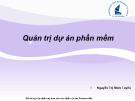 Bài giảng Nhập môn Công nghệ phần mềm: Chương 10 - Nguyễn Thị Minh Tuyền