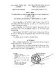 Quyết định số 64/2008/QĐ-LĐTBXH