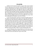 Tiểu luận thực hành: Công tác xã hội cá nhân