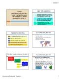 Bài giảng môn Marketing quốc tế: Chương 4 - Phân khúc thị trường chọn thị trường mục tiêu và định vị trí trong Marketing quốc tế