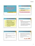 Bài giảng môn Marketing quốc tế: Chương 5 - Chiến lược thâm nhập thị trường thế giới