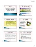 Bài giảng môn Marketing quốc tế: Chương 8 - Chiến lược phân phối sản phẩm trên thị trường thế giới