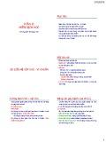 Bài giảng Vi sinh vật: Phần 2 (Miễn dịch học) - Nguyễn Thị Ngọc Yến