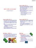 Bài giảng Vi sinh vật: Giới thiệu vi sinh vật - Nguyễn Thị Ngọc Yến