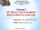 Bài giảng Chương 5: Kỹ thuật tạo ảnh động bằng công cụ Easy gif - ThS. Nguyễn Thị Uyên