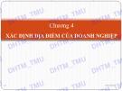 Bài giảng học phần Quản trị sản xuất: Chương 4 - ĐH Thương mại