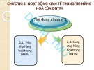 Bài giảng Kinh tế doanh nghiệp thương mại: Chương 2 – ĐH Thương mại
